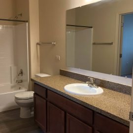 North Peak Apartments- Guest Bath