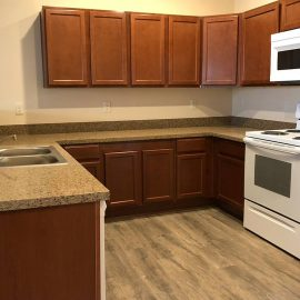 North Peak Apartments- Kitchen