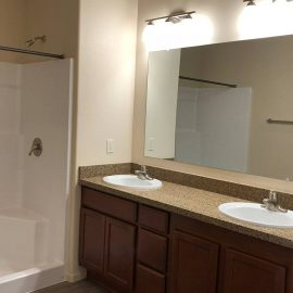 North Peak Apartments- Master Bath
